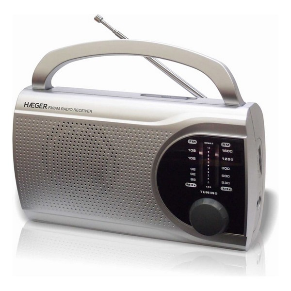 Radio AM / FM Haeger Surround